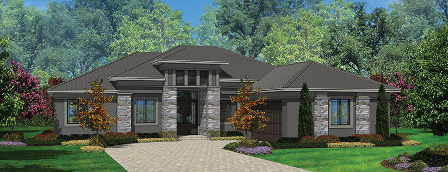 The Braeden house plan bellow 2500 sq ft