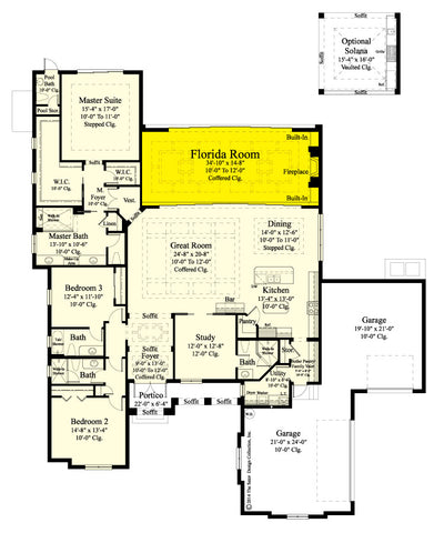 Florida Room Floor Plan