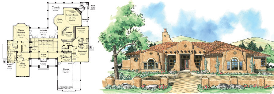 Phenomenal Change A House Plan Exterior Sater Design Collection Home Interior And Landscaping Palasignezvosmurscom