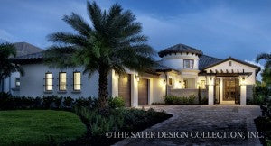 Italian Home Plans | Sater Design Collection | House Designs