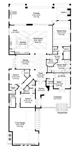 Arabella-Main Level Floor Plan-#6799