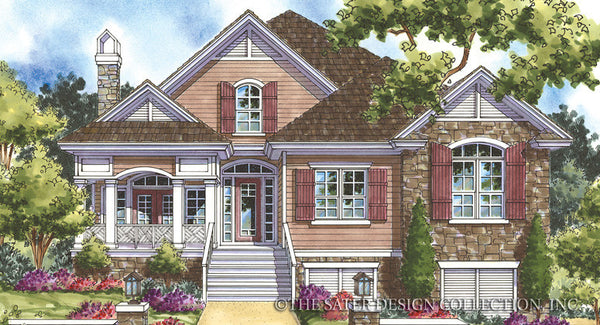 Whisperwood Coastal Craftsman House Plan