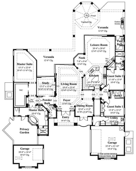 Jasper Park House floor plan – plan #6941