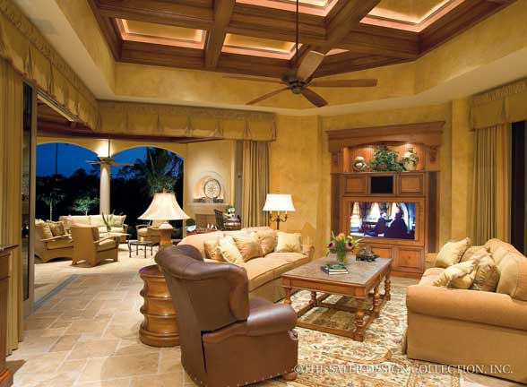 Plan of the week Mediterranean House Plans Sater Design Collection