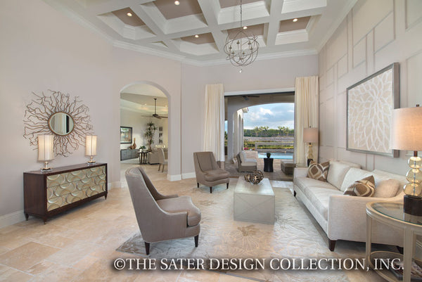 Vittoria Luxury One Story plan 6966 – Great Room