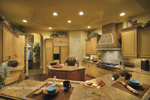 Spacious country kitchen!