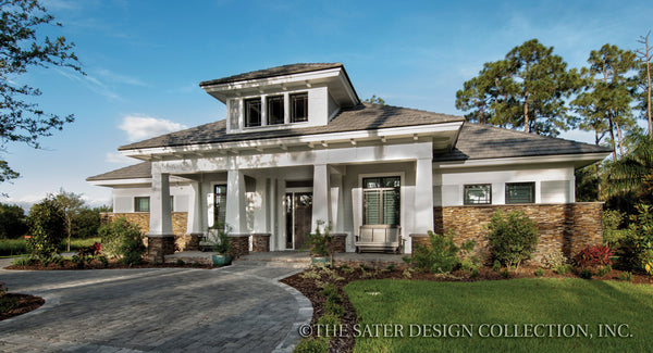 Craftsman home plans quality designs sater design for Prairie style house characteristics