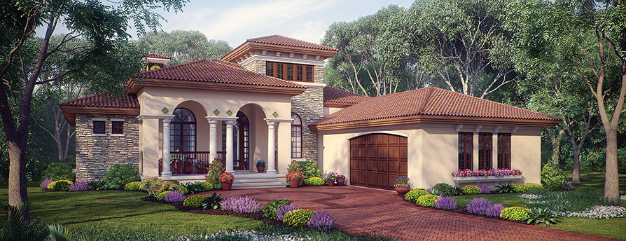 Best House Plans Under 2500 sq ft | Sater Design Collecion Home