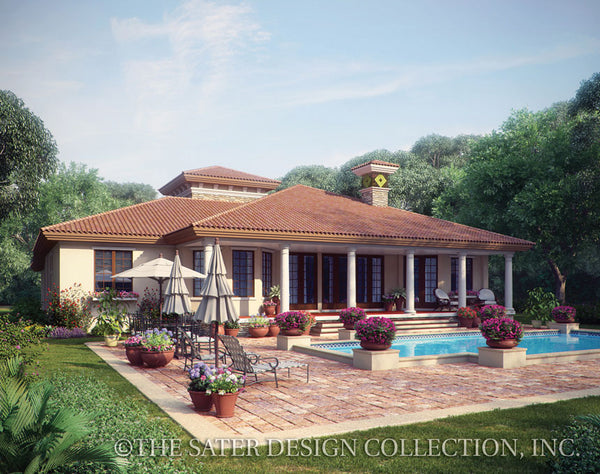 Casina Rossa-Rear veranda-Plan #8071