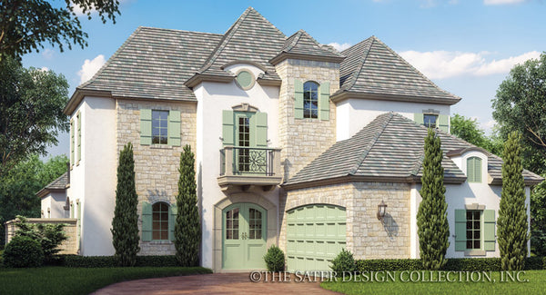 French Country House Plans Sater Design Collection