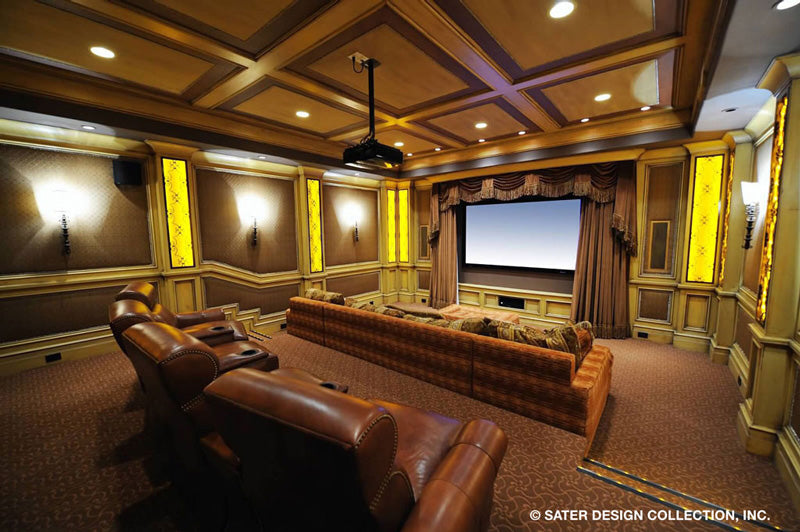 custom house home theater