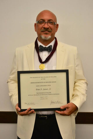 Dan Sater II inducted into the College of Fellows.