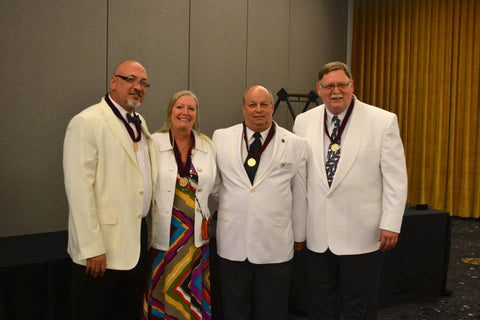 2014 College of Fellows Inductees: Dan Sater II, Jenny Pippin, Mike Keesee, Jim Wright and Jeff Rice (not pictured).