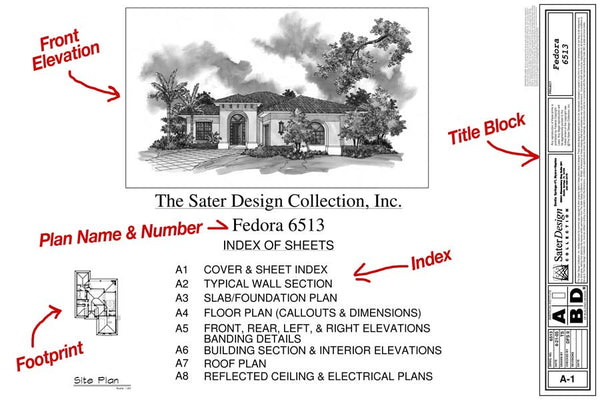 Example of a Cover Sheet by Sater