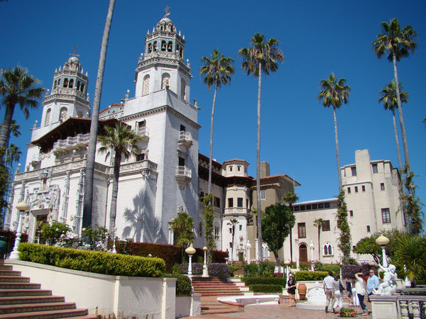 Hearst Castle San Simeon, CA designed by Julia Morgan