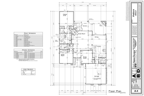 Detail Floor Plan Explained 4 Of 11 Sater Design Collection