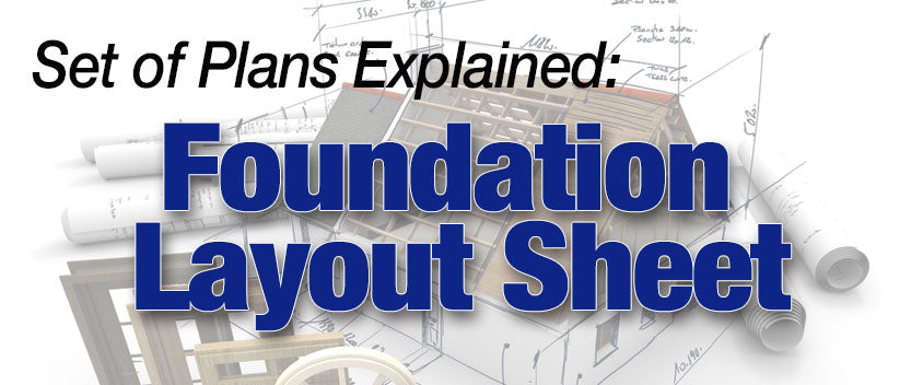 Foundation Layout Sheet Blog