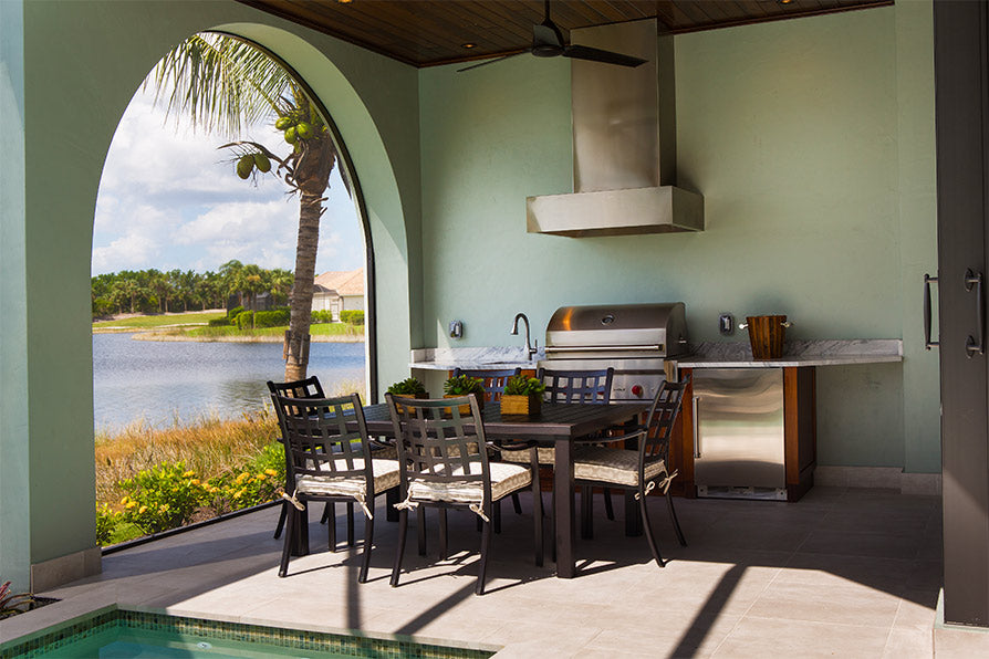 Outdoor Kitchens add value to your home