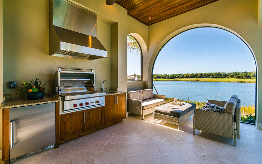 Outdoor Kitchens are great for your lifestyle