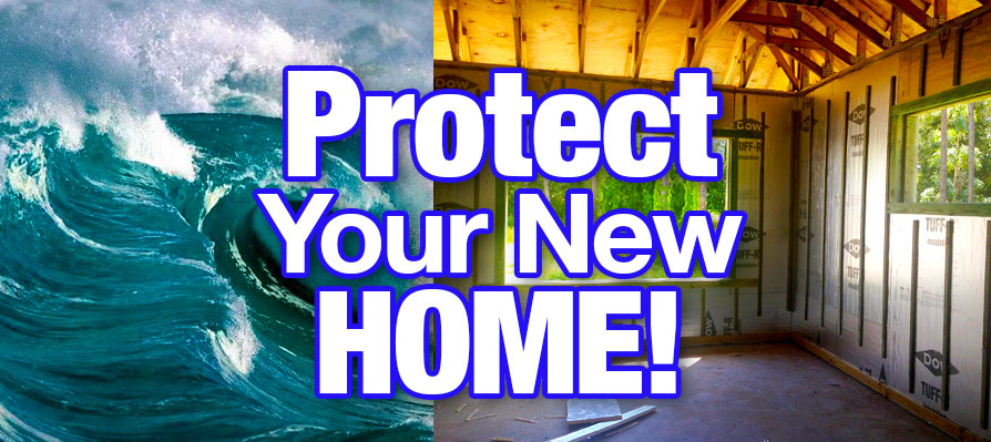 Protecting your new home from moisture and mold