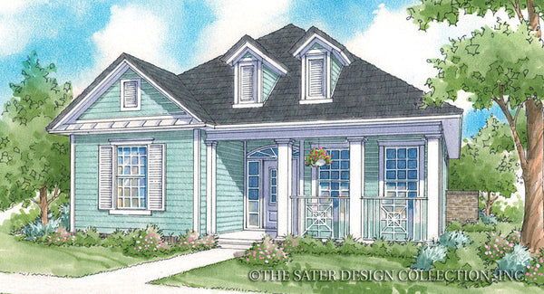 Sycamore-Front Elevation-Plan #6520