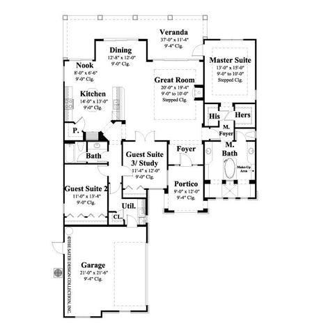 Villard-Main Level Floor Plan-#6543