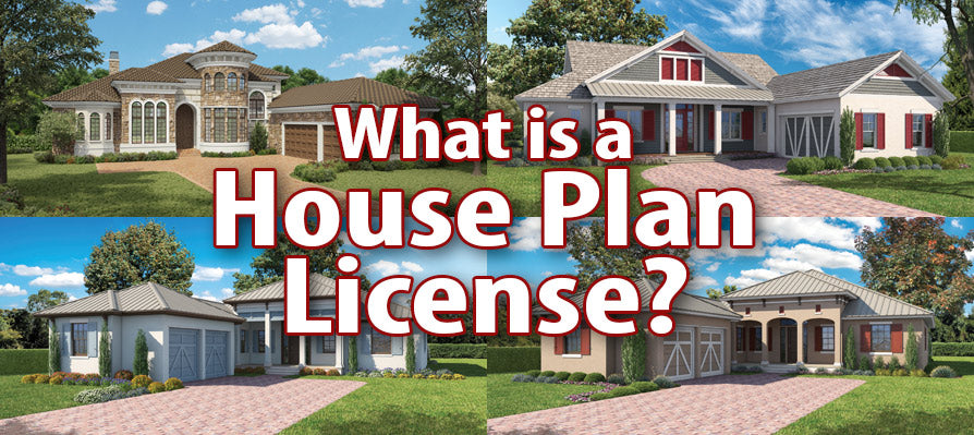 What is a House Plan License?