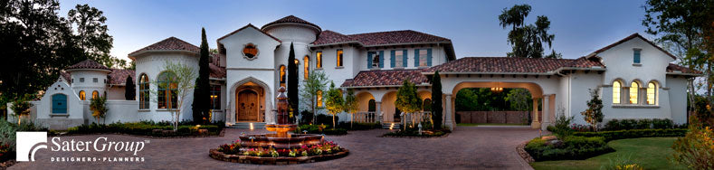 Custom Home Design Service by Dan Sater and the Sater Group Sater