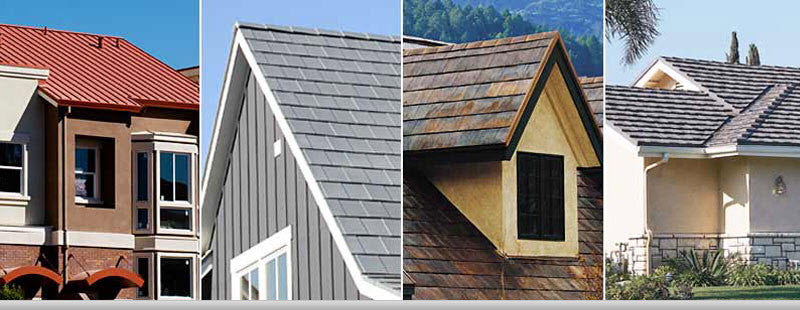 Conside the future of your new roof - Metal roof styles