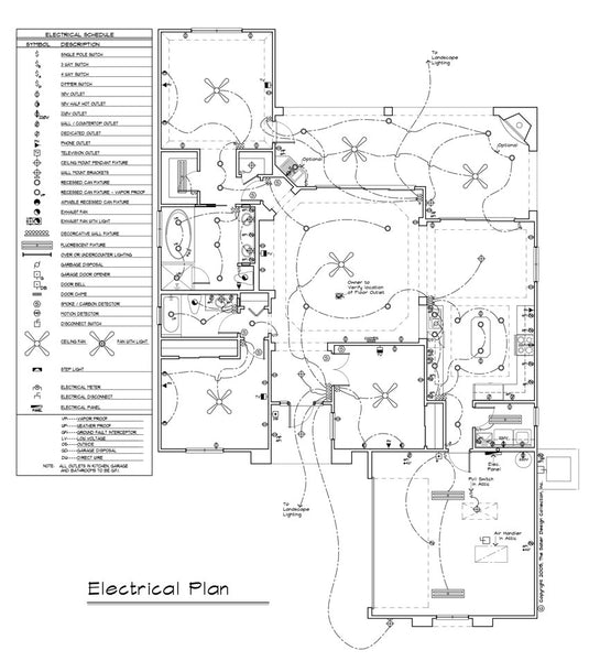 Reflected Ceiling & Electrical Plan (5 of 11) | Sater Design ...