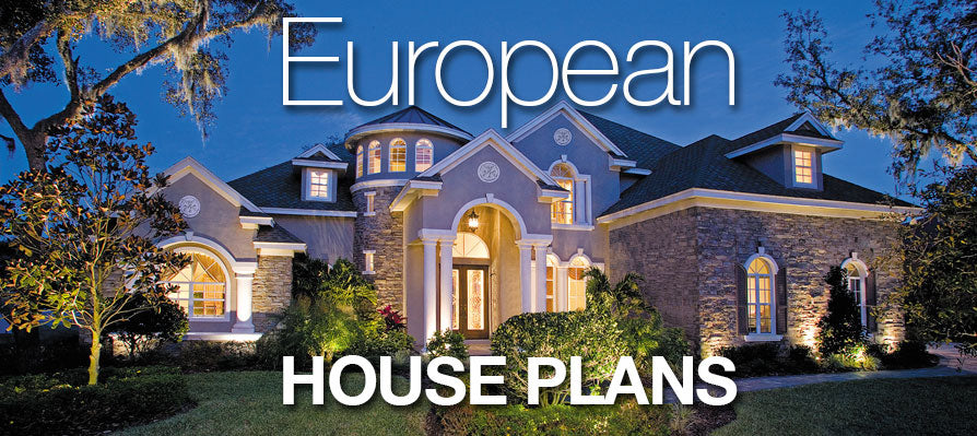 European House Plans Sater Design Collection Home Plans
