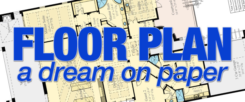 Floor Plan - A Dream on Paper