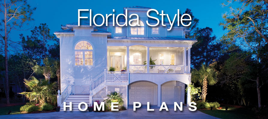 Florida Style Home Plans