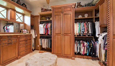House plans with his-and-hers closets