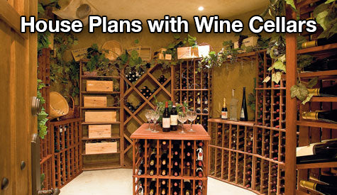 House plans with wine cellar