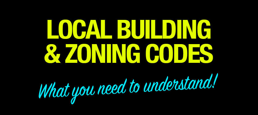 Loal Building and zoning codes
