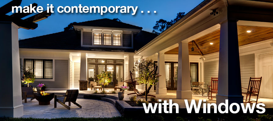 Make it contemporary with Andersen Windows