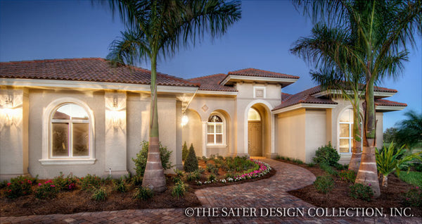 Mediterranean Front Elevation : Mediterranean style homes beauty form and function