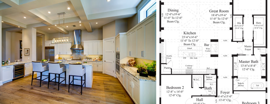 15 X 20 Kitchen Design 14 X 20 Kitchen Design 9 X 20 Kitchen