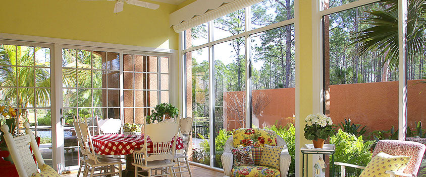 Sun Rooms and Terraces