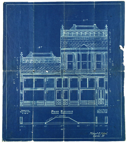Old School Blueprints