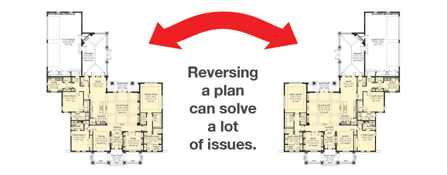 Reversing a plan can solve a lot of issues
