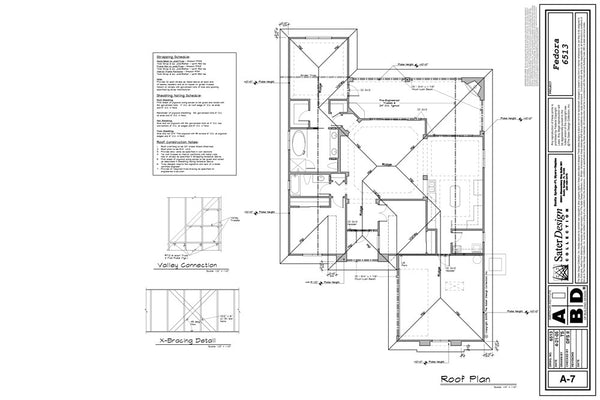 Roof Layout Sheet  7 Of 11