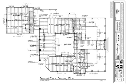 Floor Framing Plans 6 Of 11 Sater Design Collection