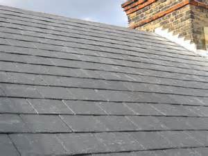 Genuine slate roof