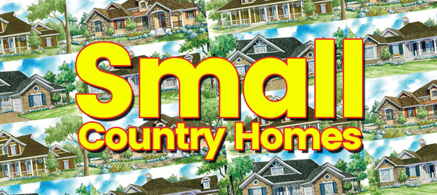 Small Country Home Plans