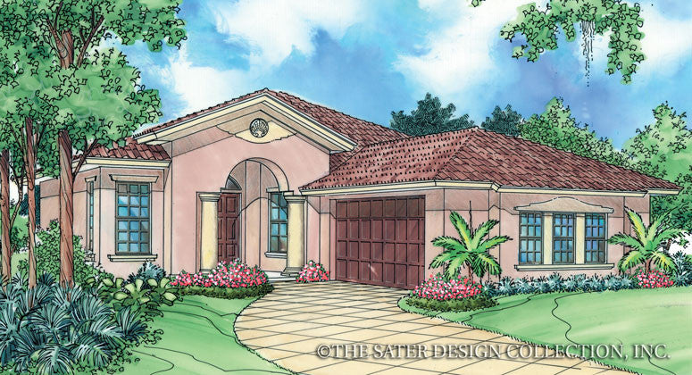 Anacito-Front Elevation Rendering-Plan #6501