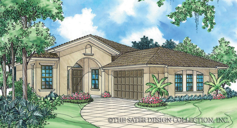 Adora-Front Elevation Rendering-Plan #6502