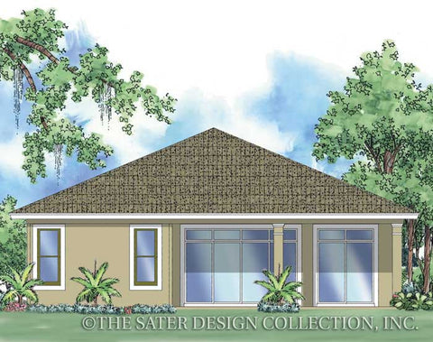 Adora house plan sater design collection home plans for Garage appeal coupon code