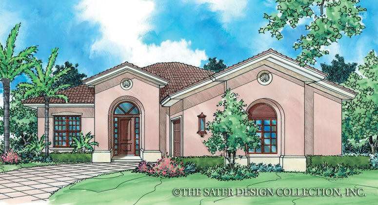 Cerafino-Front Elevation-Plan #6504
